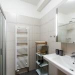 Koupelna - apartmán v penzionu Zličín
